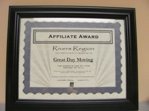 Kansas City Realtors Association Certificate