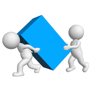 Moving Company, Movers Lifting Heavy Items
