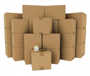 Moving Boxes and Packing Materials