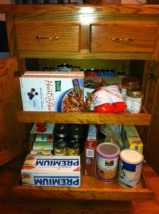 Packing Up the Kitchen Pantry