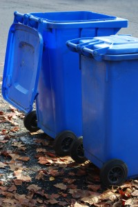 Using Garbage Cans When Moving