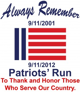 Patriots' Run Olathe Kansas September 11