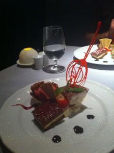 Dessert at Valentino's