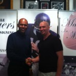 Roger with Gale Sayers