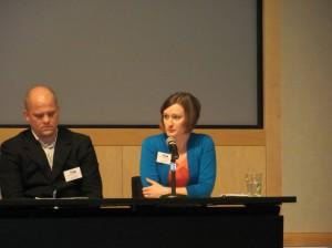 Dana speaking on the SBA Yes Summit Panel